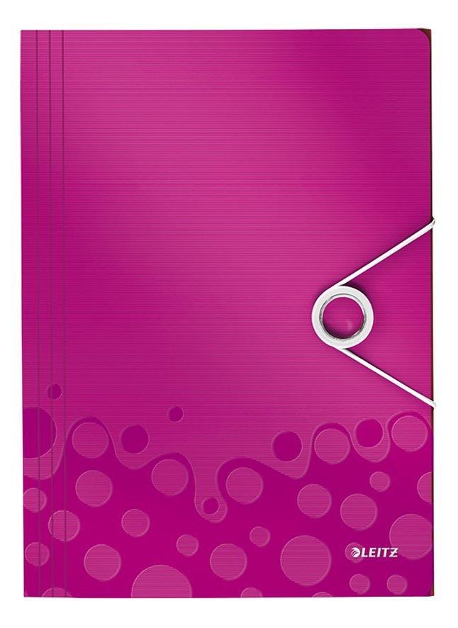 Afbeelding van Leitz elastomap WOW A4 roze from DreamLand