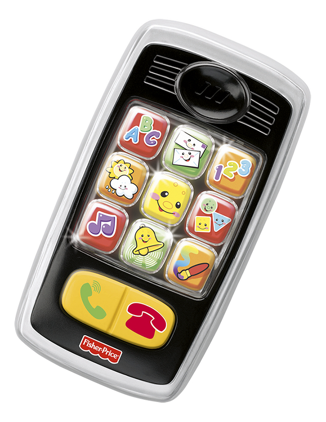 Image pour Fisher-Price Mon premier téléphone portable Laugh & Learn Smilin' Smart Phone FR à partir de DreamLand