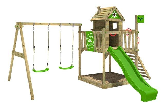 Image pour Fatmoose portique RockyRanch Roll XXL avec tobbogan vert à partir de DreamLand
