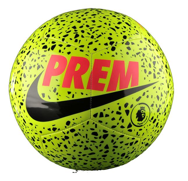 Image pour Nike ballon de football Premier League Pitch Energy taille 5 jaune/noir à partir de DreamLand
