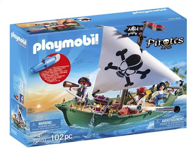 Afbeelding van PLAYMOBIL Pirates 70151 Piratenschuit met onderwatermotor from DreamLand
