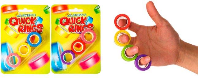 Magnetic Quick Rings - 3 stuks