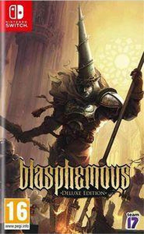 Nintendo Switch Blasphemous Deluxe Edition FR/ANG