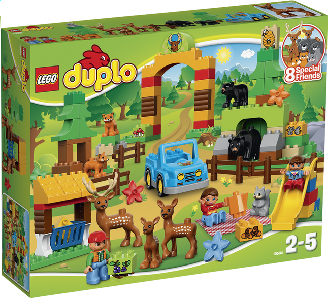 Afbeelding van LEGO DUPLO 10584 Het dierenpark from DreamLand