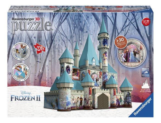Image pour Ravensburger puzzle 3D Disney La Reine des Neiges II Château à partir de DreamLand