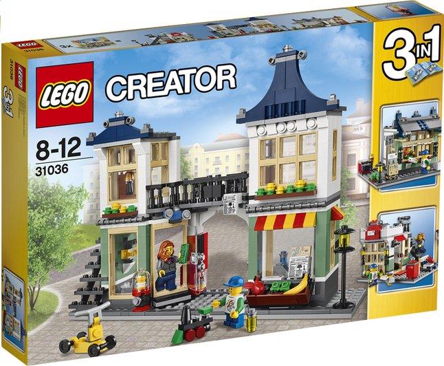 Image pour LEGO Creator 31036 Le magasin de jouets et l'épicerie à partir de DreamLand