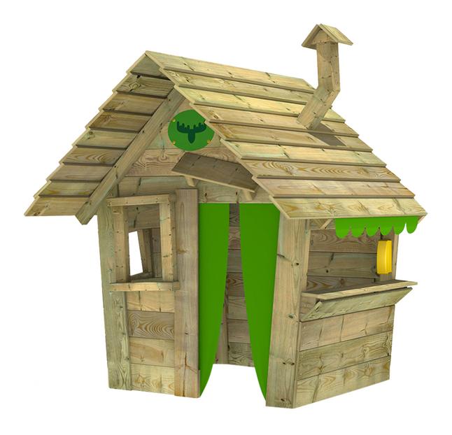 Afbeelding van Fatmoose houten speelhuisje Hippohouse Heavy XXL from DreamLand