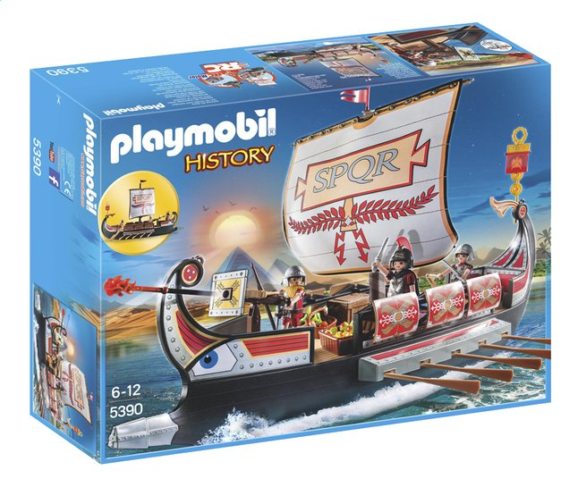Image pour Playmobil History 5390 Galère romaine à partir de DreamLand