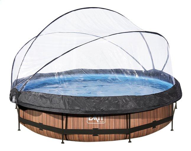 Afbeelding van EXIT zwembad Wood met overkapping Ø 3,6 m from DreamLand