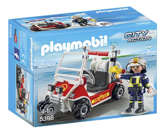 Image pour Playmobil City Action 5398 Chef des pompiers avec voiturette à partir de DreamLand