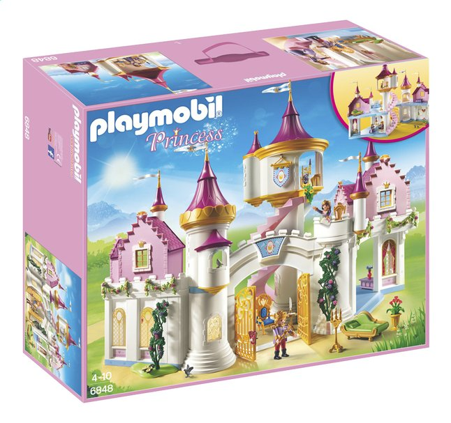 Playmobil princess 6848 grand ch teau de princesse dreamland for Playmobil chambre princesse