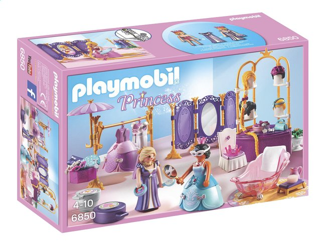 playmobil princess 6850 salon de beaut avec princesses - Playmobil Chambres Princesses