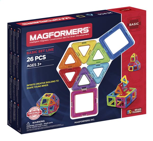 Afbeelding van Magformers Basic Set Line 26 stuks from DreamLand