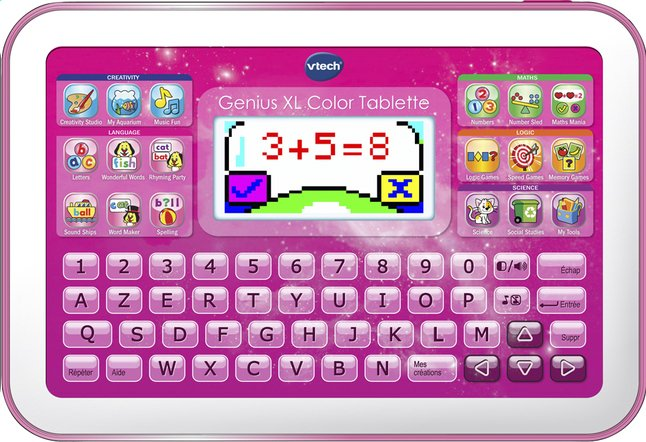 Image pour VTech Genius XL Color Tablette rose à partir de DreamLand