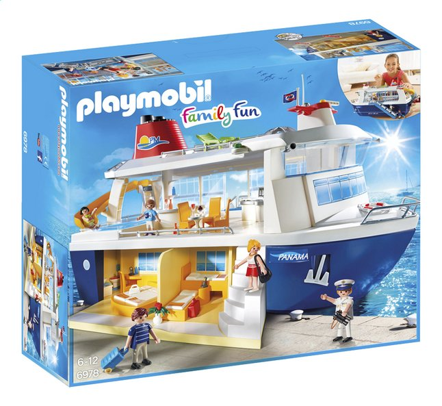 Afbeelding van Playmobil Family Fun 6978 Cruiseschip from DreamLand