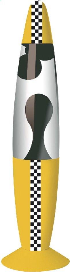 Image pour Lampe à lave Kreative New York Taxi avec bande en damier à partir de DreamLand