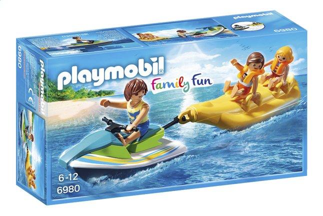 Afbeelding van Playmobil Family Fun 6980 Jetski met bananenboot from DreamLand