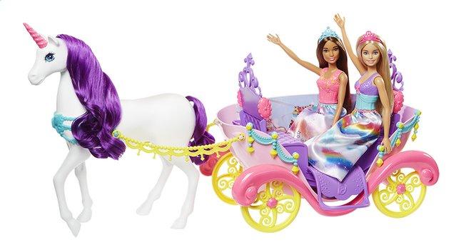 Barbie speelset dreamtopia prinsessen met koets dreamland - Carrosse barbie ...