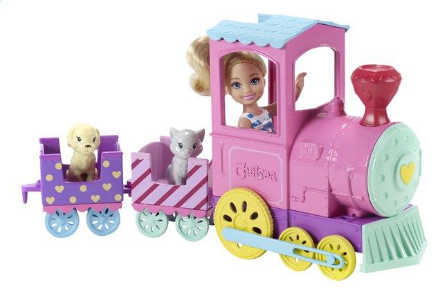 Afbeelding van Barbie speelset Club Chelsea Magische trein from DreamLand