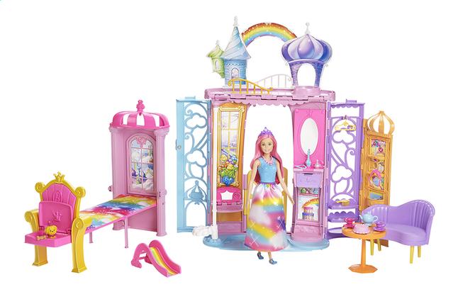 Barbie Dreamtopia Château avec poupée et chiot