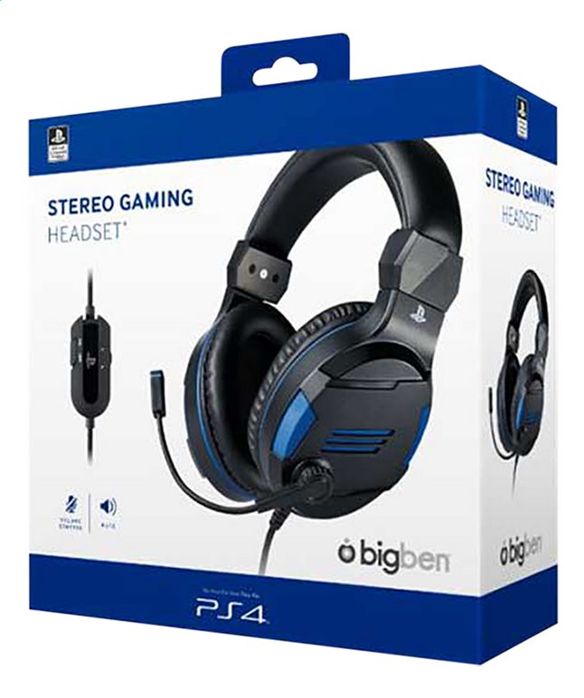 Image pour bigben casque-micro PS4 Official Stereo Gaming V3 à partir de DreamLand
