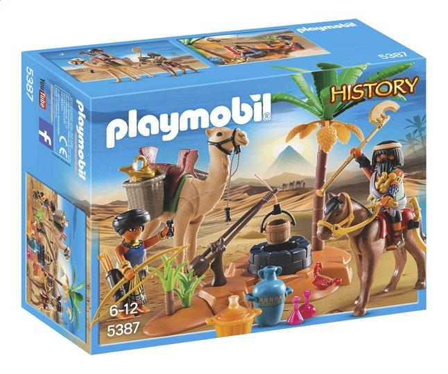 Image pour PLAYMOBIL History 5387 Pilleurs égyptiens avec trésor à partir de DreamLand
