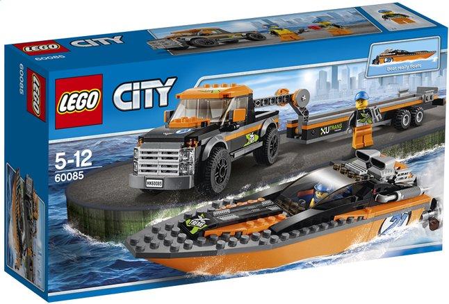Image pour LEGO City 60085 Le 4x4 avec hors-bord à partir de DreamLand