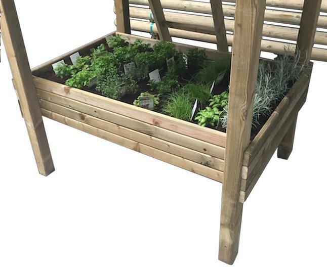 BnB Wood zandbak / kweektafel voor Nieuwpoort
