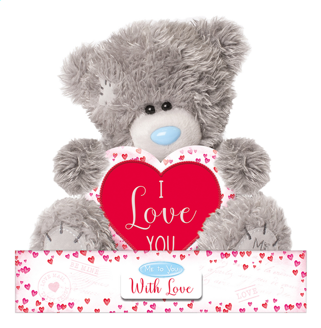 Afbeelding van Me to You knuffel I Love You 16 cm from DreamLand