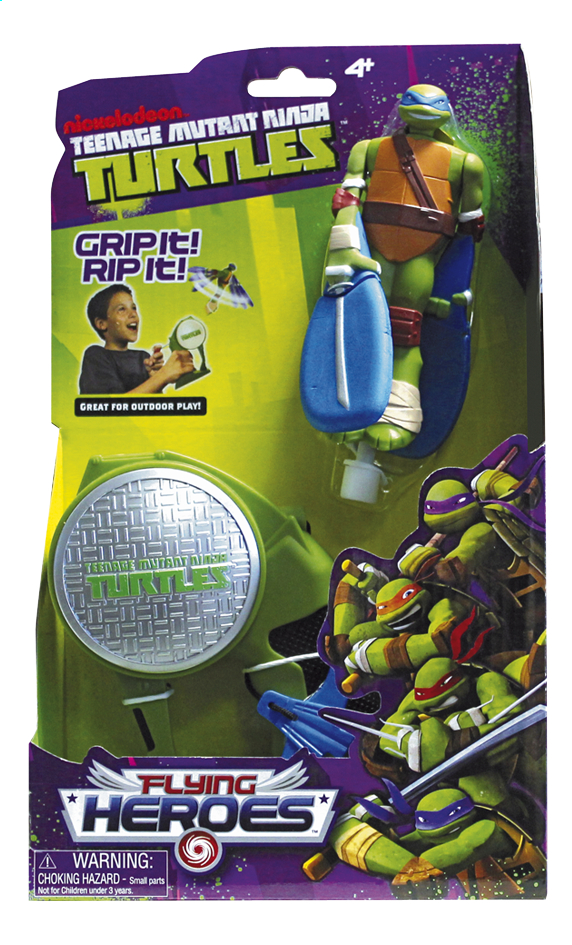 Afbeelding van Figuur Teenage Mutant Ninja Turtles Flying Heroes Leonardo from DreamLand