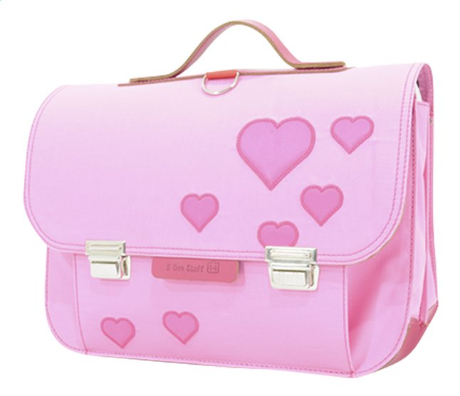 Afbeelding van # Own Stuff boekentas Heart Pink 38 cm from DreamLand