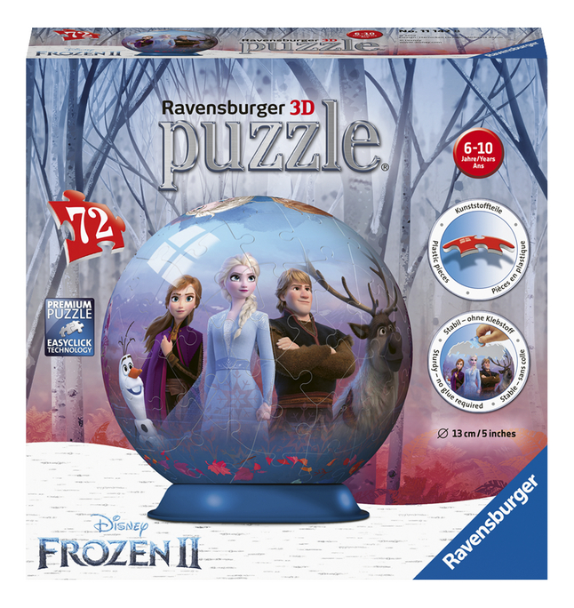 Afbeelding van Ravensburger puzzleball Disney Frozen II 3D from DreamLand