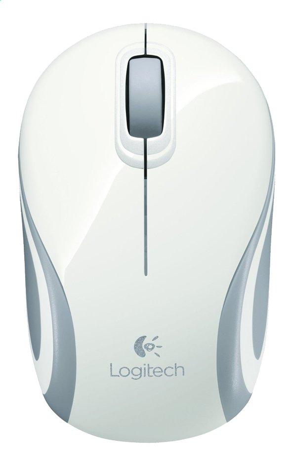 Afbeelding van Logitech draadloze optische minimuis M187 wit from DreamLand
