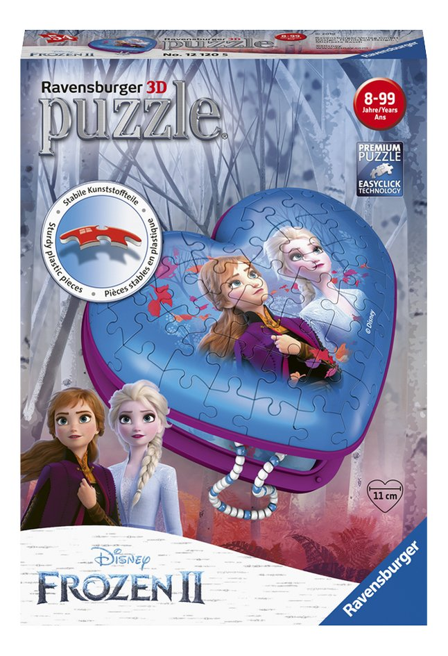 Afbeelding van Ravensburger 3D-puzzel Girly Girl Disney Frozen II Hartendoosje from DreamLand