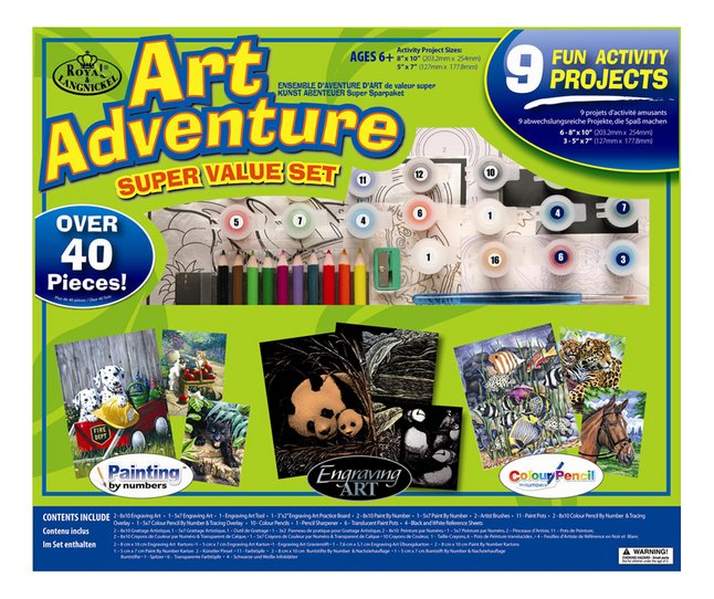 Afbeelding van Royal & Langnickel Art Adventure Super Value Set 9 activiteiten from DreamLand