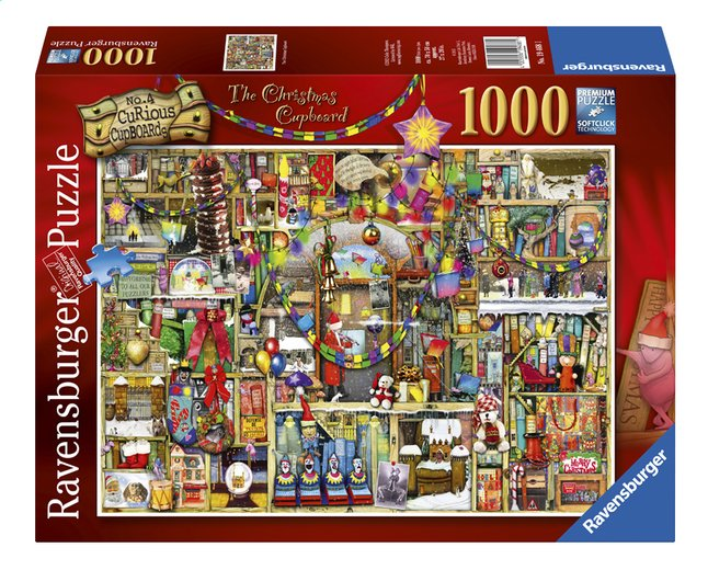 Afbeelding van Ravensburger puzzel The Christmas Cupboard from DreamLand