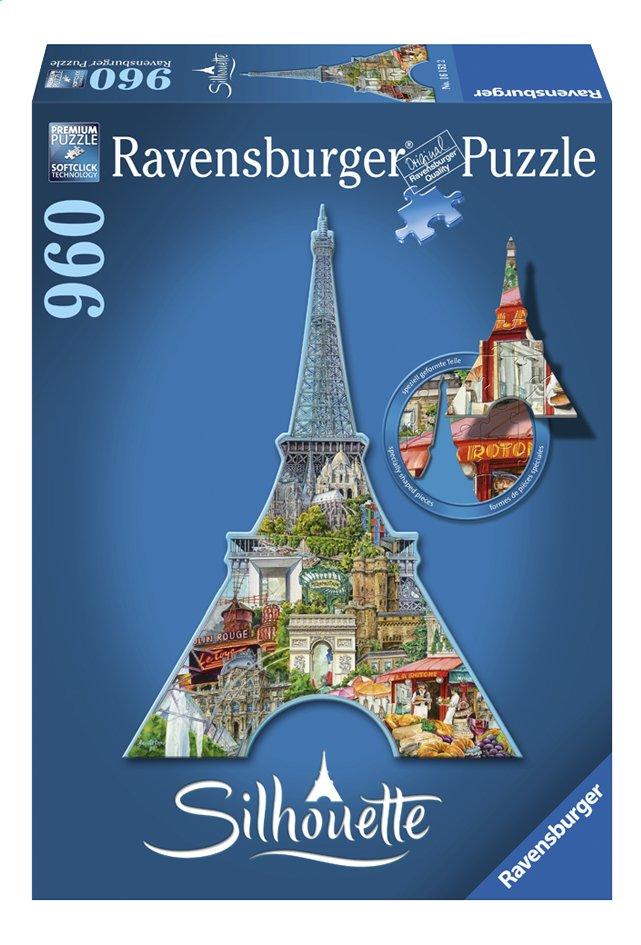 Afbeelding van Ravensburger puzzel Silhouet Eiffeltoren Parijs from DreamLand