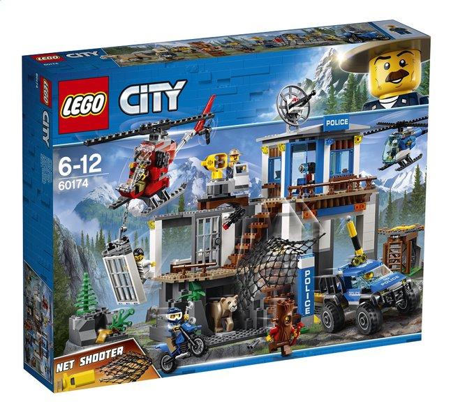 Afbeelding van LEGO City 60174 Politiekantoor op de berg from DreamLand