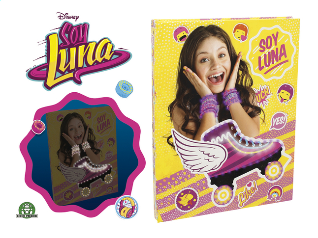 Afbeelding van Dagboek Disney Soy Luna from DreamLand