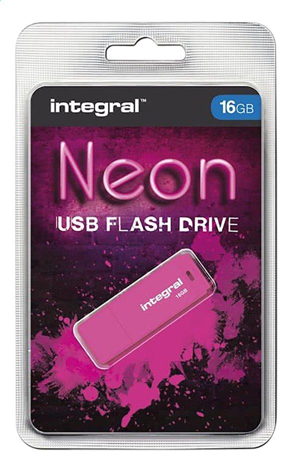 Afbeelding van Integral USB-stick 16 GB neon pink from DreamLand