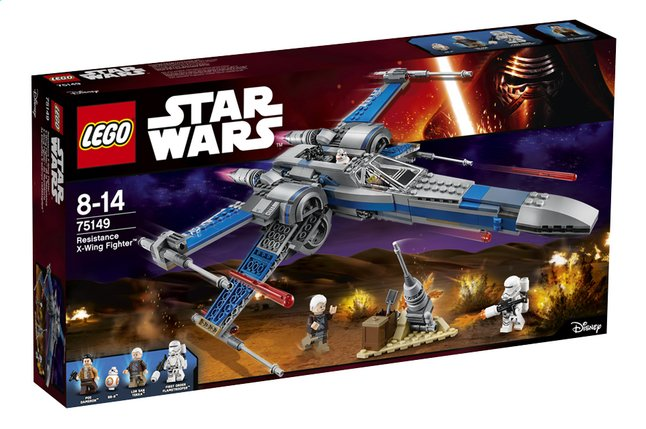 Afbeelding van LEGO Star Wars 75149 Resistance X-Wing Fighter from DreamLand