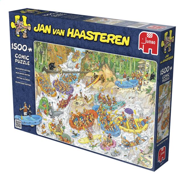 Afbeelding van Jumbo Puzzel Jan Van Haasteren Wild water raften from DreamLand