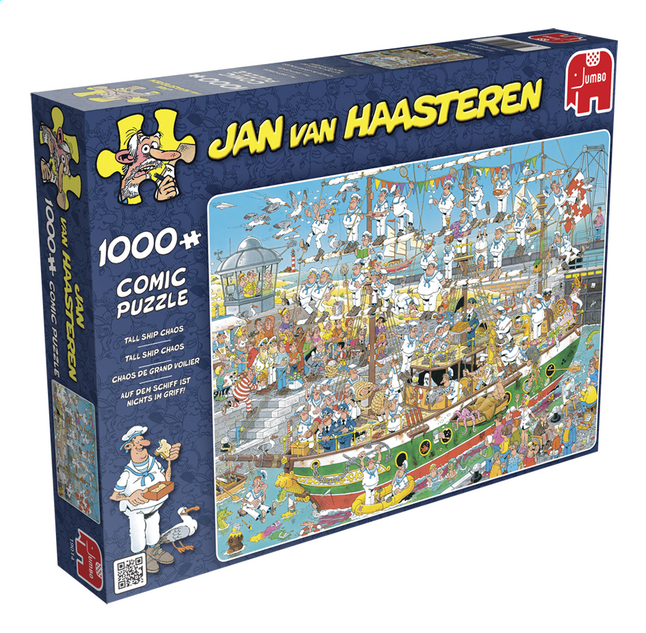 Image pour Jumbo puzzle Jan Van Haasteren Chaos de grand voilier à partir de DreamLand