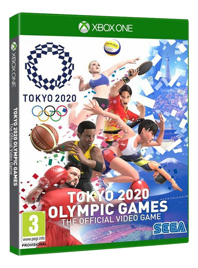 Xbox Tokyo 2020 Olympic Games The Offical Video Game ENG/FR