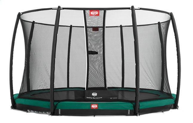 Berg trampoline enterré avec filet de sécurité Champion Inground Ø 2,70 m Green