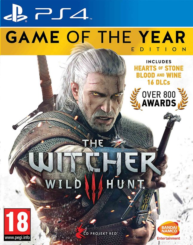 Afbeelding van PS4 The Witcher 3 Wild Hunt Game of the Year Edition ENG from DreamLand