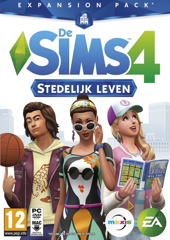 Afbeelding van PC De Sims 4 Expansion Pack - Stedelijk leven ENG from DreamLand