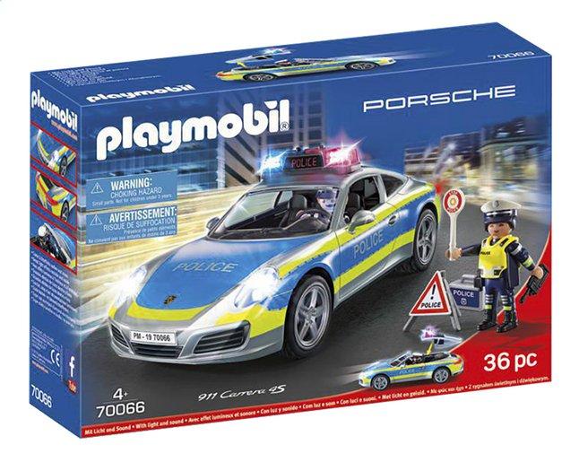 PLAYMOBIL Porsche 70066 Porsche 911 Carrera 4S Police