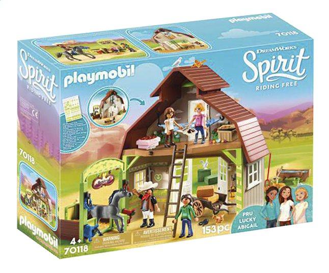 Image pour PLAYMOBIL Spirit 70118 Grange avec Lucky, Apo et Abigaëlle à partir de DreamLand
