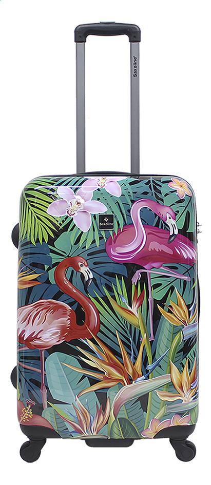 Afbeelding van Saxoline harde koffer exotische flamingo 54 cm from DreamLand